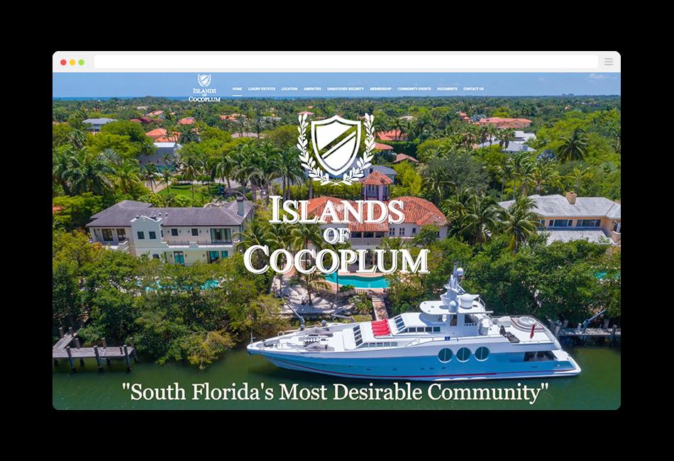 homeowner association website coral gables florida