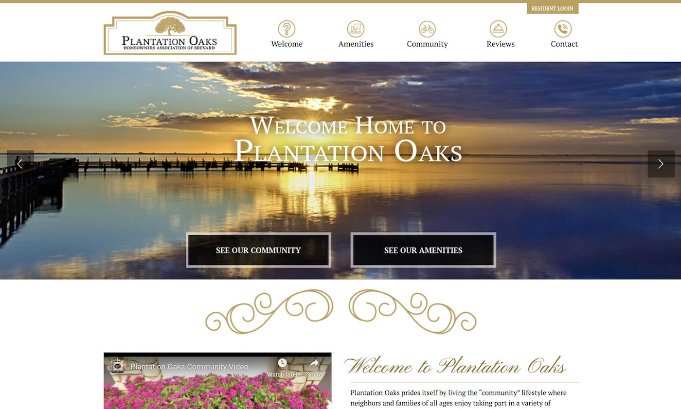 2020 hoa website